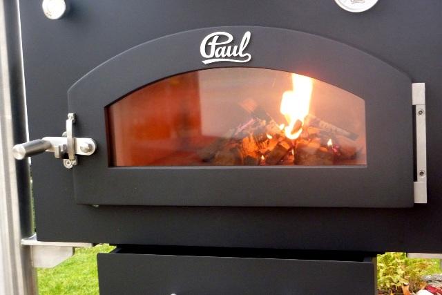 Außenküche Mit Backofen : Paul manufaktur holzbackofen gartengrill smoker holzbacköfen